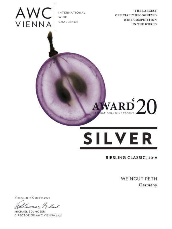 Award Riesling Classic 2019